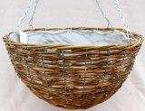 Dragon Rattan Hanging Basket