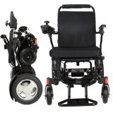 Left Joystick Portable Folding Electric Wheelchair for Disabled Go Anywhere