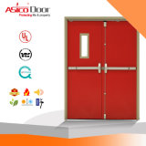 Iron Safety Fire Proof Steel Door 3.0 Hours UL Listed
