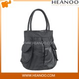 Korean Designer Cheap Polyester Tote Bag Handbag Shoulder Bag