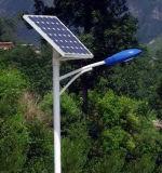 9m 60W LED Street Pole with Solar Panels