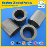 99.5% Carbon Rasching Ring Used in Acids and Alkalies Environment