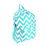 Fashion Canvas Backpack / Chevron Bags (FLY-PB00005)