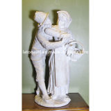 White Marble Stone Statue Carving for Manor, Garden