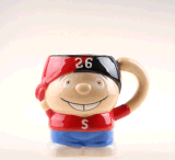 Holiday Gift Stoneware Ceramic Coffee Tea Mug for Children