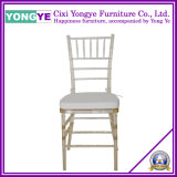 Amber Resin Chiavari Chair with Cushion
