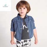 New Style Leisure Boys′ Long Sleeve Denim Shirt with 100% Cotton by Fly Jeans