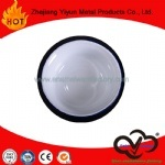 OEM&ODM Hot Sale High Quality White Color Enamel Plate