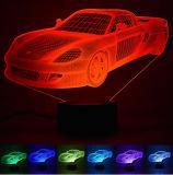 Motorcycle/ Sport Car/Bus/Train 3D Illusion Lamp. 3D LED Night Light