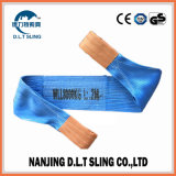 8 Ton Polyester Webbing Sling for Lifting Cargo