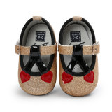Toddler Baby Girls Sneaker Soft Sole Bow Shoes Scandals