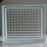 Clear & Colored Glass Block for Decorative Wall
