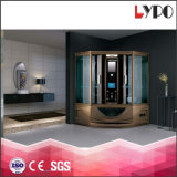 K-7026A China Suppliers Shower Cabin Steam with Free Fitting Manufacture Black Framed Shower Doors Factory