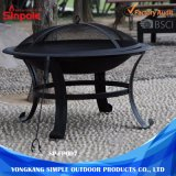 Steel BBQ Grill Fire Pit Outdoor with Spark Screens