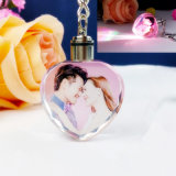 Custom Crystal Key Ring with Printing Photos
