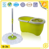 Hand Press 360 Spin Microfiber Cleaning Mop