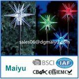 Outdoor Good Quality Solar Star Stick Garder Light