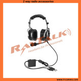 Aviation Anr Headset with Flexible Boom for Perfect Microphone Placement