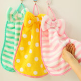 Fashion Reusable Bowknot Hand Microfiber Cleaning Towel