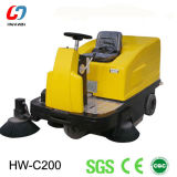 Factory Warehouse Ride-on Road Sweeper, Street Sweeper