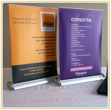 Mini Table Roll up Banner Stand (Aluminum)