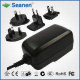 12W Multi-Pin AC Adaptor (RoHS, efficiency level VI)