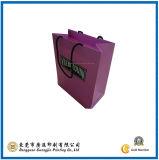 Purple Paper Shopping Bag (GJ-Bag080)