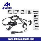 Anbison-Sports Airsoft Bone Conduction Headset with Finger Ptt