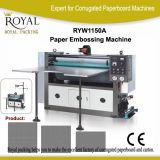 Book Cover Embossing Machine and Paper Bag Pattern Making Machine