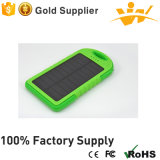 Multicolor 5, 000mAh Portable Power Bank Solar Charger