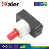 10mm in Line Switch; Table Lamp Switch, Pushbutton Switch (PBS-17A-2)