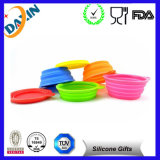 Soft Flexible Travelling Collapsible Silicone Pet Bowl
