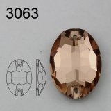 Wholesale Oval Sew on Stones Crystal Rhinestone for Dresses Decoration