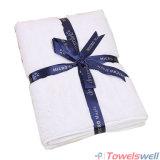 White Soft Microfiber Terry Bath Towel