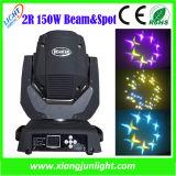 2r 150W Beam Moving Head Spot Light for Disco Lighting