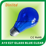 A19 -E27- Incandescent Daylight blue Bulb