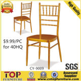 Hotel Metal Cheaper Banquet Gold Chiavari Tiffany Chair