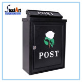 Outdoor Waterproof Cast Aluminum Post Box