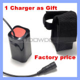 Waterproof 8.4V 8800mAh 4*18650 Rechargeable Battery Pack