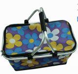Portable Shopping Basket/Foldable Picnic Basket