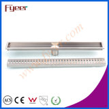 Fyeer Stainless Steel Big Long Rectangle Linear Bathroom Floor Drain