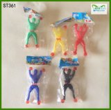 Wholesale in Bulk Funny Toys Sticky Wall Men TPR Sticky Toys for Children