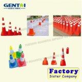 Road Safety Fluorescent Orange PVC Traffic Cone