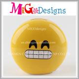 Low Price Ceramic Emoji Money Box with Hand-Printing