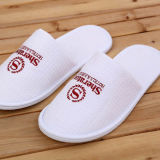 High Quality Waffle White Hotel Disposable Slipper Supplied by China Factory