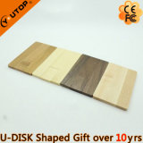Card Rotating USB Flash Memory for Wooden Gifts (YT-3132)