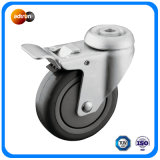 """4"""" Hollow Kingpin Medical Wheels with Lock"""