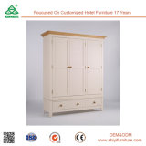 Perfect for Hanging Clothes Bedroom Wooden Wardrobe Cabinet