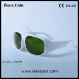 Application: IPL Machine / CE EN169 IPL Safety Glasses/ Eyewear 200-1400nm with White Frame 52