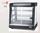 Catering equipment/glass food warmer display showcase /electric food warmer for sale